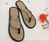 【厂家直销】夏季一字夹趾人字拖 沙滩鞋 简约百搭