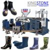 圆盘式单色塑胶雨鞋套鞋水鞋生产机械设备生产线