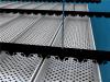广州冲孔铝扣板吊顶\加油站铝条扣吊顶