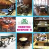 咖啡厅桌椅、西餐厅桌椅深圳厂家 富美家防火板桌椅定制 中高端餐桌椅厂家