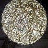 瑪斯歐自主研發樹脂材質粗條樹枝藤式藝球罩復古美鄉村自然風格藝術LED光源酒店壁燈MS-W9002