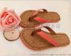 2017夏季新款木纹时尚沙滩女人字拖防滑个性室内拖鞋简约百搭外穿