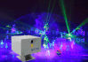 亮宇户外激光灯 楼顶激光 激光生产厂家 20W单绿色激光秀表演系统