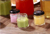 食品透明蜂蜜储物密封罐果酱瓶酱菜瓶六棱蜂蜜玻璃瓶罐头瓶燕窝瓶