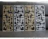 广州仿木纹铝窗花生产厂家