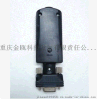 RS232锂电池蓝牙公头适配器 十米传输内置天线转蓝牙串口适配器