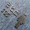 苏州敏兴标识 不锈钢仿古字