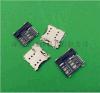 SIM卡座廠家供應MICRO 6+1PIN SIM卡座 接觸性能穩定