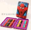 热销推荐高雄五金安全拉链式马口铁笔盒 彩色铅笔盒 个性文具盒 修改