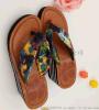 【厂家直销】长期供应夏季坡跟时尚女款人字拖鞋,夹脚拖鞋.