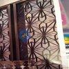 仿古不锈钢屏风、星级酒店大堂立式屏风、古铜镀色艺术不锈钢屏风