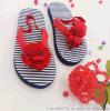 【厂家直销】2017夏季童鞋人字拖 夹拖 花朵鞋 防滑动物图案软底