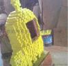 厂家直销专业定制手工木制马赛克卡通造型 商场美陈 舞台道具