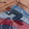日本彩虹树攀爬 蜘蛛网多彩色编织绳网探险