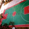 惠州球场翻新改造 旧篮球场重做 丙烯酸球场翻新网球场 球场施工
