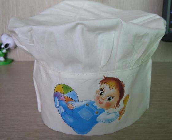儿童厨师衣的印花图案
