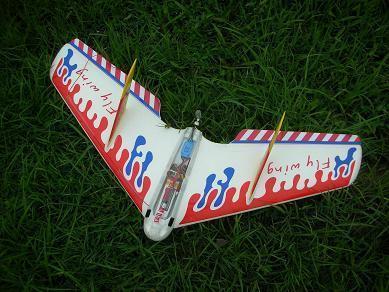 三角翼电动飞机