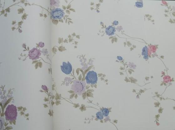 碎花壁纸-田园风格
