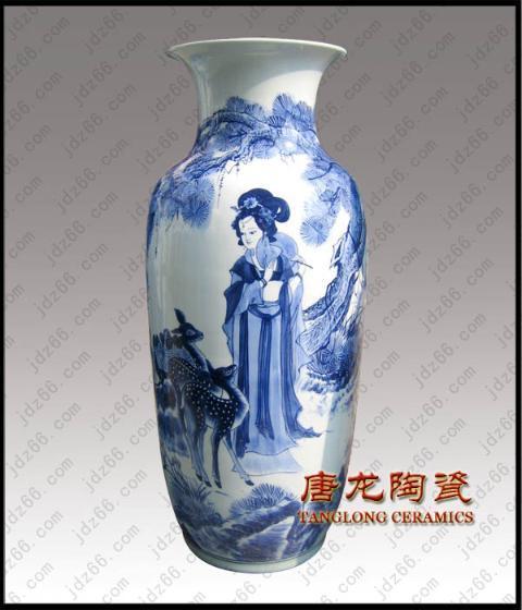 青花瓷花瓶花纹简笔画