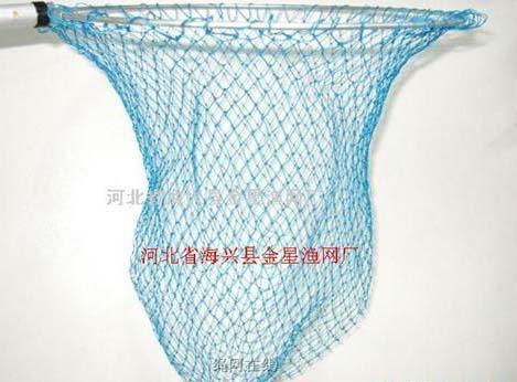 鱼网针圈织方法步骤图