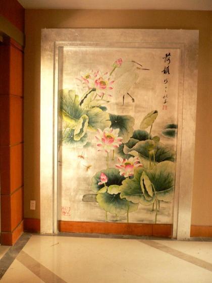 4:墙绘--手绘墙画定制(家居手绘墙画,别墅手绘墙画,酒店墙体彩绘