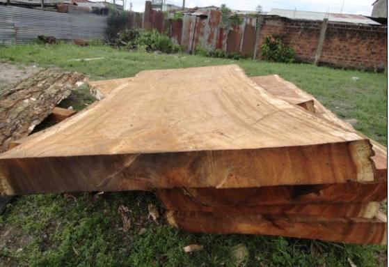 南美黑胡桃(雨木)大桌面板