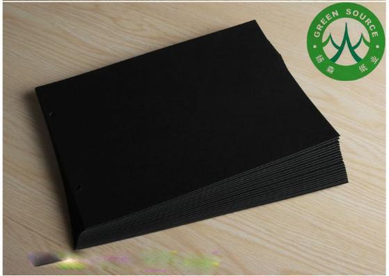 手绘相册黑色卡纸设计图