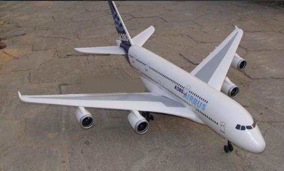 涵道遥控飞机; airbus空中客车a380四涵道无刷电机