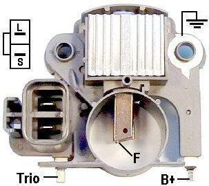 汽车发电机调节器销售信息汽车发电机调节器怎么接线 e搭高清图片