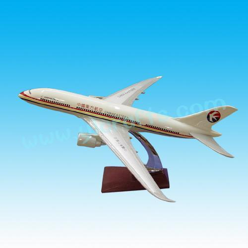 飞机模型(东方航空b787)