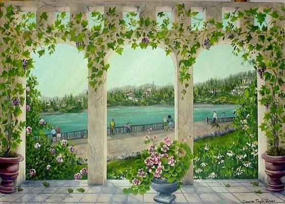 大堂壁画 中国制造网,郑州迦南墙体彩绘艺术壁画工程