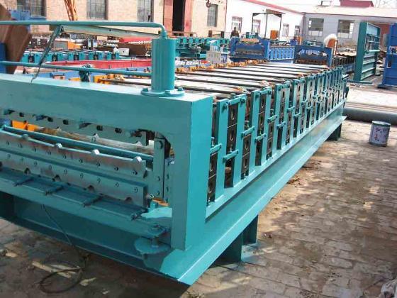 双层彩钢压瓦机 中国制造网泊头市鑫丰压瓦机厂