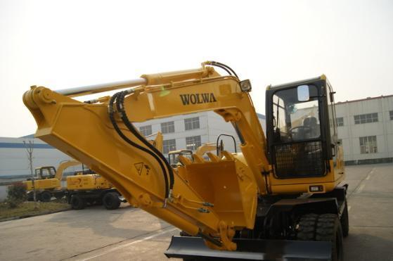 轮式挖掘机dls880-9a液压小挖图片