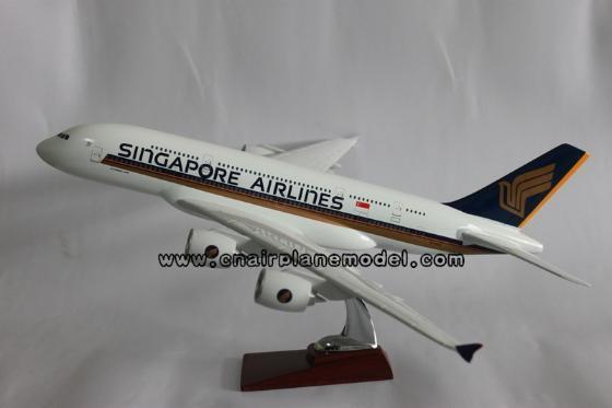 飞机模型(空客a380新加坡航空)