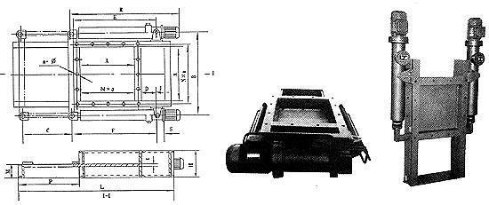 平板闸门特点   该闸阀结构简单,重量轻,操作灵活,装拆方便,采用图片