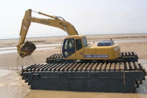 用途: 特种挖掘机 铲斗: 抓铲挖掘机 大小: 大型 行走方式: 履带挖掘