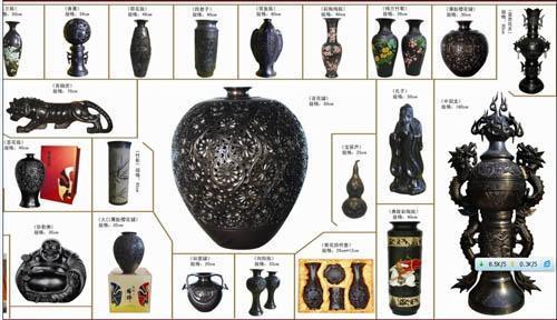 黑陶制品 高中低档次黑陶工艺品