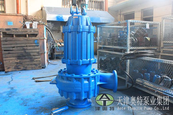 输送大颗粒物质-螺旋离心潜水泵