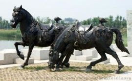 玻璃钢动物雕塑图片欣赏