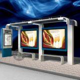 新型公交候车亭站台灯箱,公交候车亭灯箱,公交站台广告灯箱