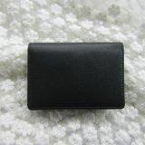 青岛春辉皮革加工生产真皮短款横款纯色多功能大容量男女名片包