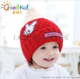 bbmy99_乖孩子冬款保暖护耳帽批发_宝宝针织帽毛线帽定做