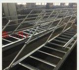 腾灿供应钢格板安装配套热镀锌球形立柱栏杆