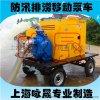 移動四輪拖車柴油機水泵