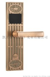 深圳廠家鋅合金磁卡感應門鎖酒店賓館智慧鎖公寓電子鎖