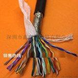 36芯0.2平方TRVSP18*2*0.2高柔性双绞屏蔽拖链电缆