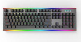前哨FC001 US 104键背光RGB侧灯双色键帽机械键盘