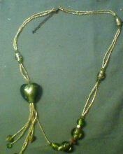琉璃珠心形服装配饰品(GY200812071)