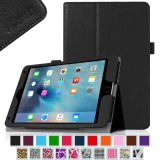 厂家定制 iPad mini 4 7.9寸苹果ipad保护套两折荔枝纹