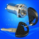 机床面板锁  台湾环保电源锁 钥匙开关 735锁 739锁 电子锁 美容仪器锁 3档电源锁